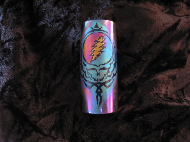 Custom Niobium Slide for Bobby Weir