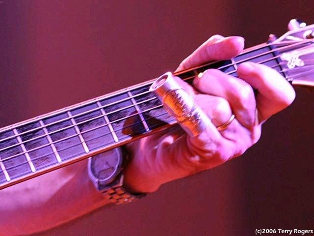 Bob Weir Playing Slide at Ramshead in Baltimore